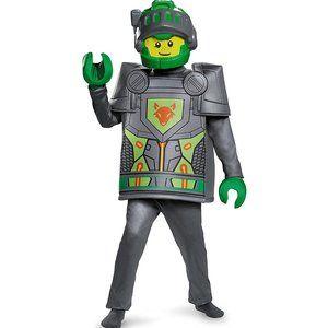 NEW Disguise Boys' Aaron Nexo Knights Lego Costume